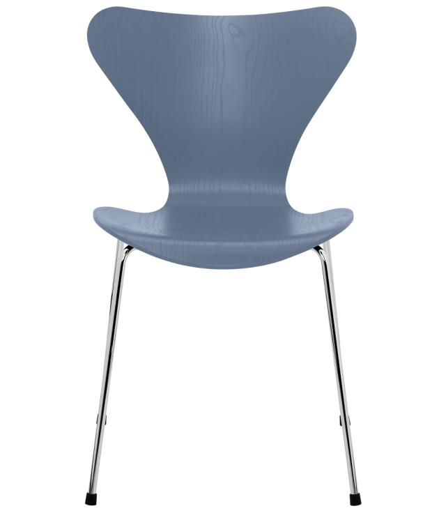 FRITZHANSEN(フリッツハンセン)serie7(セブンチェア)coloured ash(カラードアッシュ) DUSK BLUE (ダスクブルー)ベースカラー選択可