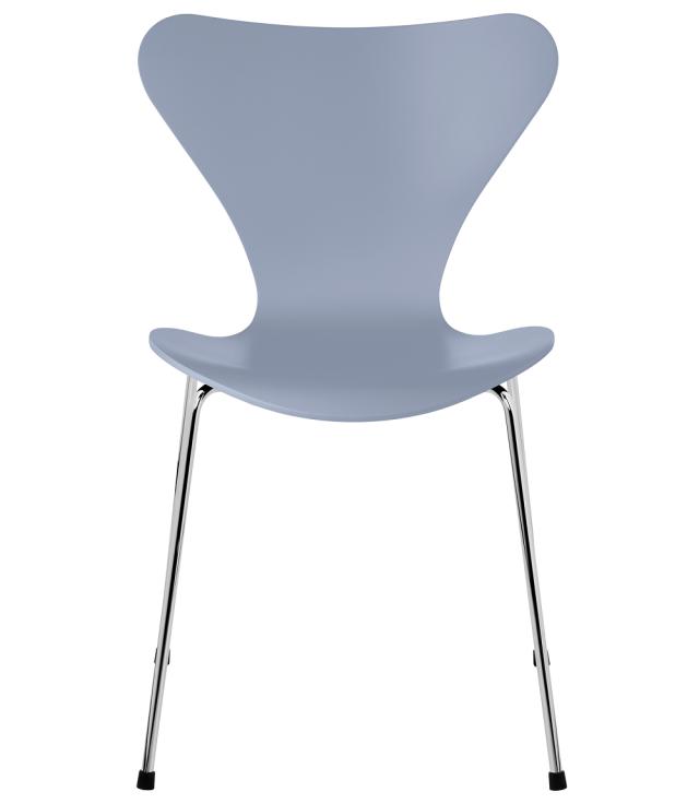 FRITZHANSEN(フリッツハンセン)serie7(セブンチェア) 3107, lacquer(ラッカー) LAVENDER BLUE (ラベンダーブルー)ベースカラー選択可
