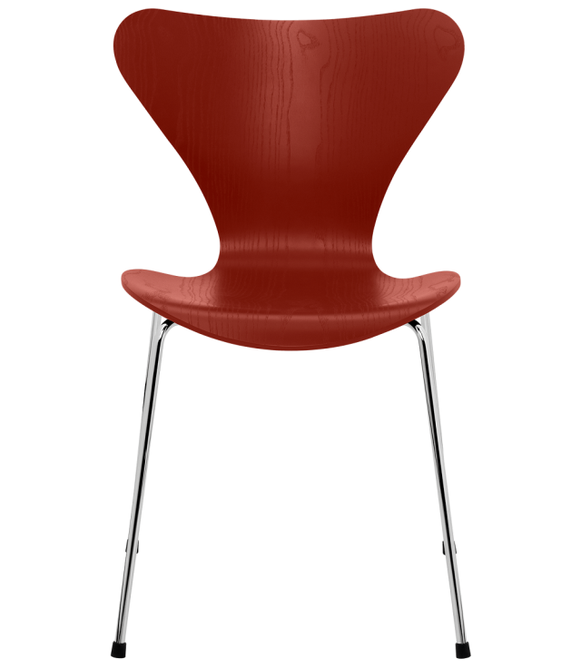 FRITZHANSEN(フリッツハンセン)serie7(セブンチェア)coloured ash(カラードアッシュ) VENTIAN RED(ベネチアンレッド)ベースカラー選択可