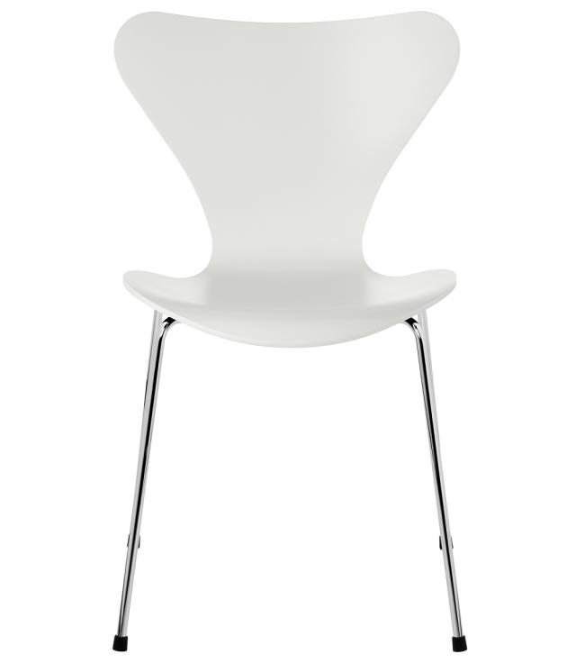 FRITZHANSEN(フリッツハンセン)serie7(セブンチェア)3107,  lacquer(ラッカー) WHITE (ホワイト)ベースカラー選択可