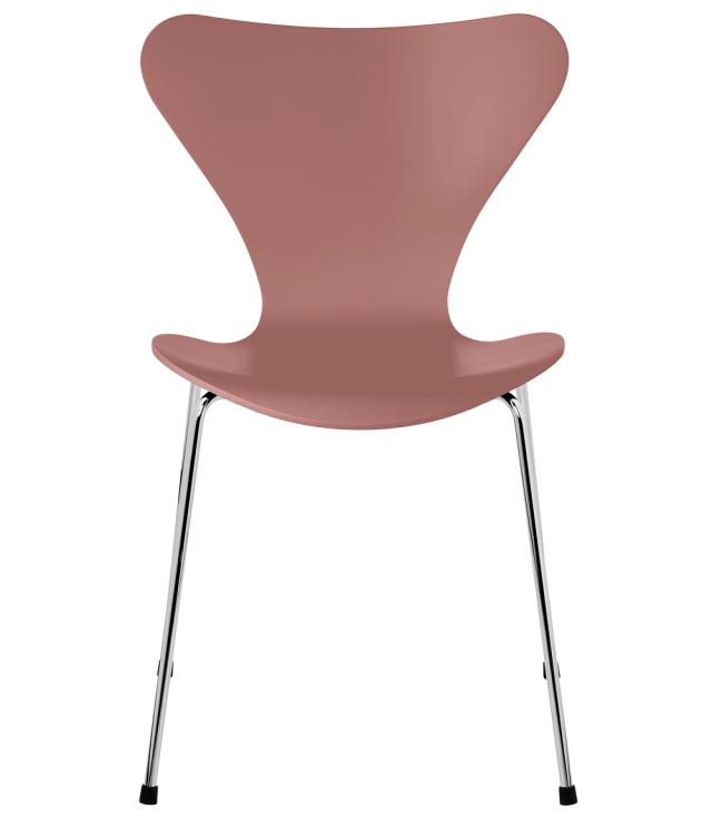 FRITZHANSEN(フリッツハンセン)serie7(セブンチェア)3107,  lacquer(ラッカー) WILD ROSE (ワイルドローズ)ベースカラー選択可