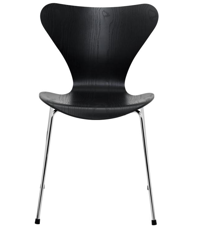 FRITZHANSEN(フリッツハンセン)serie7(セブンチェア)3107, coloured ash(カラードアッシュ)black(ブラック)ベースカラー選択可