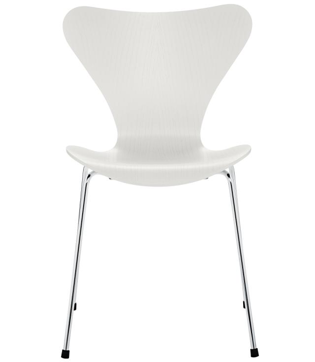 FRITZHANSEN(フリッツハンセン)serie7(セブンチェア)3107, coloured ash(カラードアッシュ) WHITE (ホワイト)ベースカラー選択可