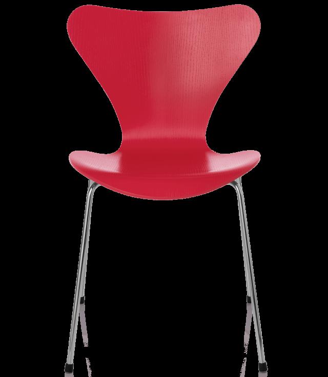 FRITZHANSEN(フリッツハンセン)serie7(セブンチェア)coloured ash(カラードアッシュ)opium red(オピウムレッド)