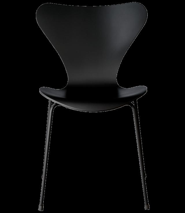 FRITZHANSEN(フリッツハンセン)serie7(セブンチェア)lacquer(ラッカー)black(ブラック)脚同色:粉体塗装仕上げ