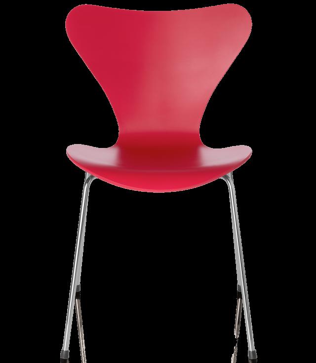 FRITZHANSEN(フリッツハンセン)serie7(セブンチェア)lacquer(ラッカー)opium red(オピウムレッド)