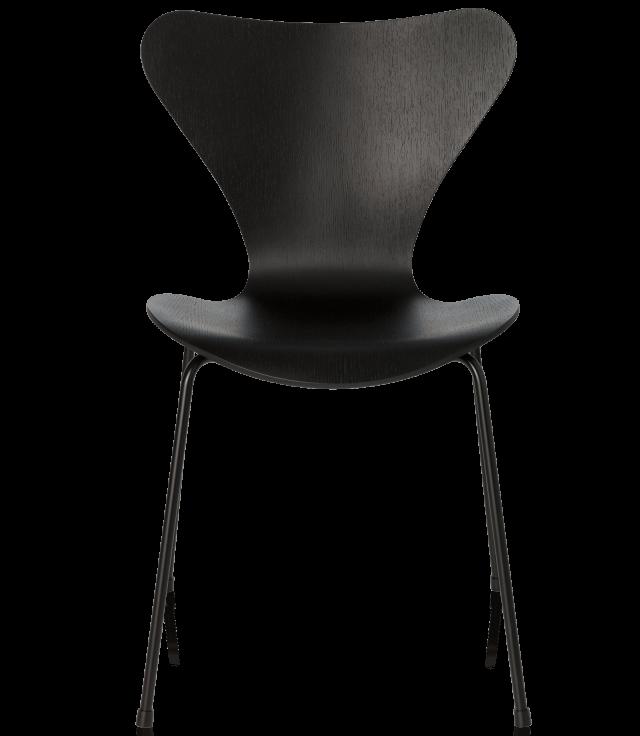 FRITZHANSEN(フリッツハンセン)serie7(セブンチェア)coloured ash(カラードアッシュ)black(ブラック)脚同色:粉体塗装仕上げ