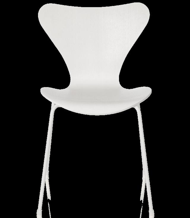 FRITZHANSEN(フリッツハンセン)serie7(セブンチェア)coloured ash(カラードアッシュ)white(ホワイト)脚同色:粉体塗装仕上げ