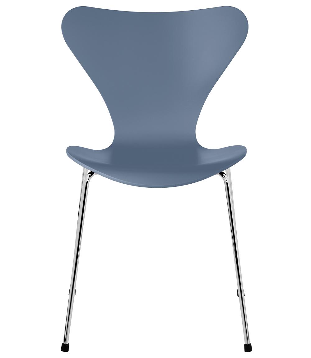FRITZHANSEN(フリッツハンセン)serie7(セブンチェア)3107,  lacquer(ラッカー) DUSK BLUE (ダスクブルー)ベースカラー選択可