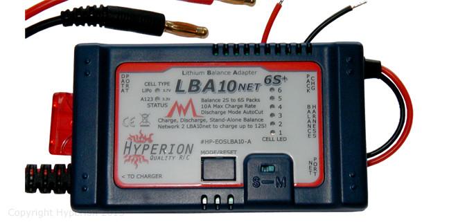 Hyperion EOS LBA10 Net A123 バランサー(HP-EOSLBA10-A)|RC ラジコン ヘリコプター