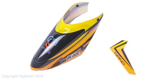 Horizon Hobby キャノピー: Nano CP S用 (AH-BLH2405)|ラジコンヘリ関連商品 ホライゾンホビー ORI RC パーツ