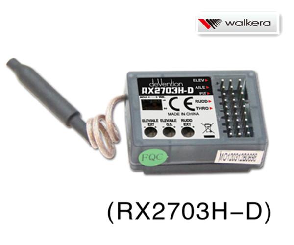 ORI RC ワルケラ walkera V450D03用 6軸ジャイロ内蔵 2.4Ghz受信機  (HM-NEWV450D01-Z-04)  |ラジコンヘリ関連商品 walkera パーツ