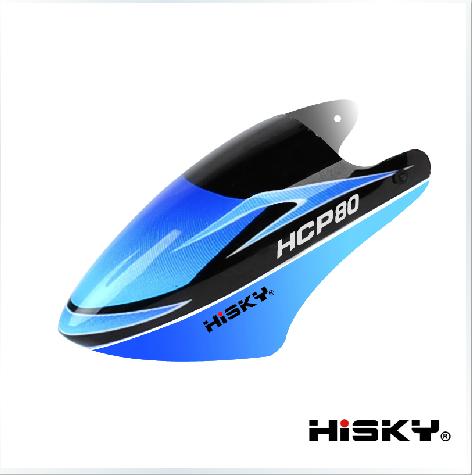 ORI RC HiSKY HCP80(FBL80)用 キャノピー 800341|ラジコンヘリ関連商品 HiSKY パーツ HCP80 ハイスカイ