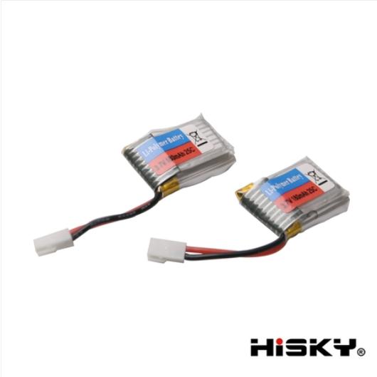 ORI RC HiSKY HCP60 HCP80(FBL80)用 バッテリー 2個セット 800083|ラジコンヘリ関連商品 HiSKY パーツ HCP80 ハイスカイ