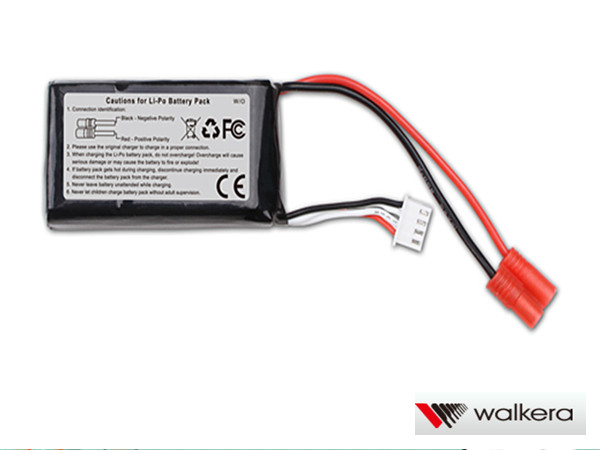 ORI RC ワルケラ walkera Master CP用 リポバッテリー (11.1V 1000mAh Li-Po) (HM-Master-CP-Z-27)|ラジコンヘリ関連商品 walkera パーツ