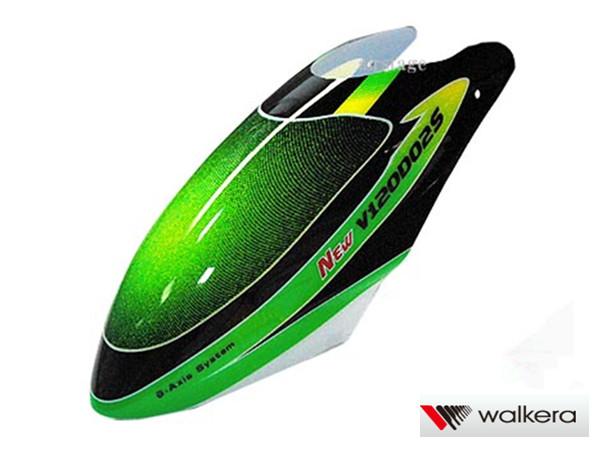 ORI RC ワルケラ walkera NEW V120D02S用 キャノピー(緑) (HM-NEWV120D02S-Z-01G) ラジコンヘリ関連商品 walkera パーツ