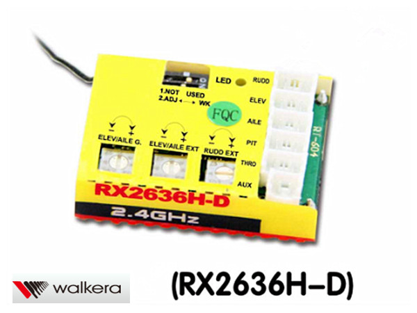 ORI RC ワルケラ walkera NEW V120D02S用 6軸ジャイロ内臓2.4Ghz受信機 (HM-NEWV120D02S-Z-02) ラジコンヘリ関連商品 walkera パーツ
