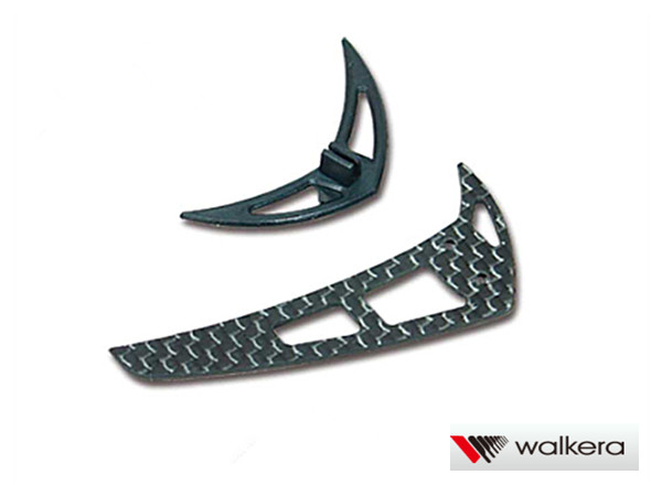 ORI RC ワルケラ walkera NEW V120D02S用 スタビライザーフィン セット (HM-V120D02S-Z-17) ラジコンヘリ関連商品 walkera パーツ