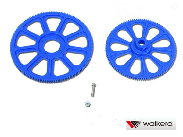 ORI RC ワルケラ walkera V450D03用 メインギヤセット (HM-F450-Z-03)|ラジコンヘリ関連商品 walkera パーツ