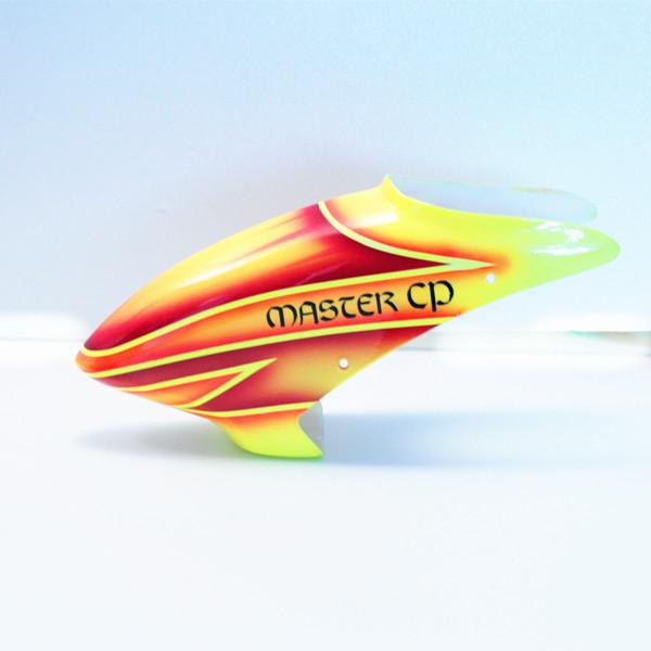 ORI RC ワルケラ walkera Master CP用グラス ファイバー キャノピー 赤 HM-Master-CP-grs-01R|ラジコンヘリ関連商品 walkera パーツ