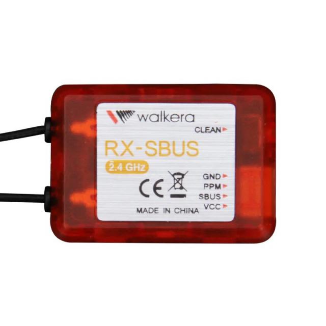 高性能受信機 WALKERA ワルケラ 2.4GHz 受信機 12CH SBUS 8CH PPM対応可能 DEVO7 DEVOF7 DEVO10 DEVO12E仕様 (walkera-rx-sbus) ラジコン ヘリコプター ORI RC