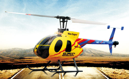Nine Eagles ソロ・プロ127 H500 (2.4GHz 4ch 超小型電動ヘリコプター) (NE200412) |  SOLO PRO 127 H500