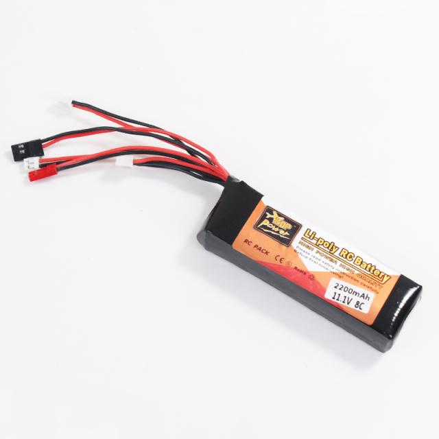 Walkera DEVO7 DEVO10プロポ対応リポバッテリー 3S 11.1V 8C 2200mAh (walkera-devo-bt)