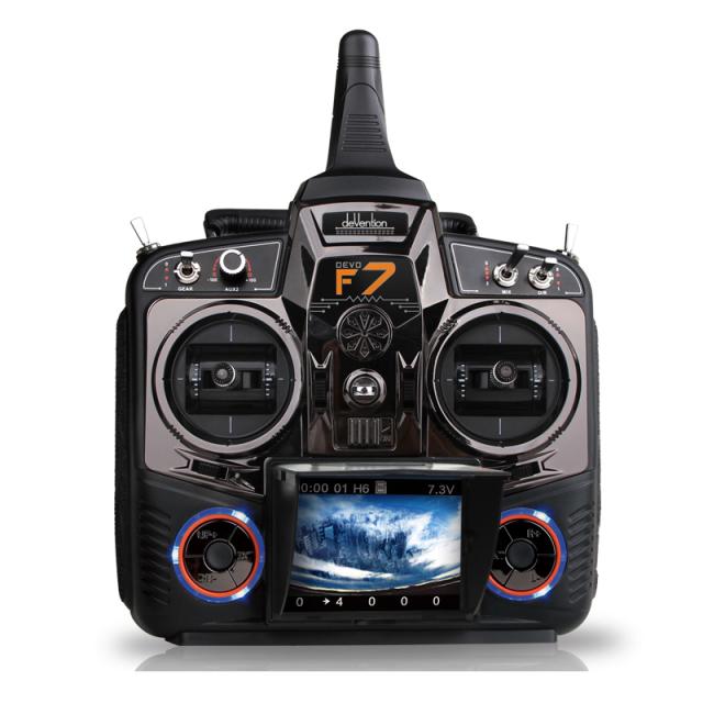 ワルケラ モニター付き FPVレーシングプロポ DEVOF7 技適・電波法認証済 飛行機 ヘリ ドローン対応 WALKERA デボF7 5.8Ghz映像転送受信対応 (walkera-devof7)