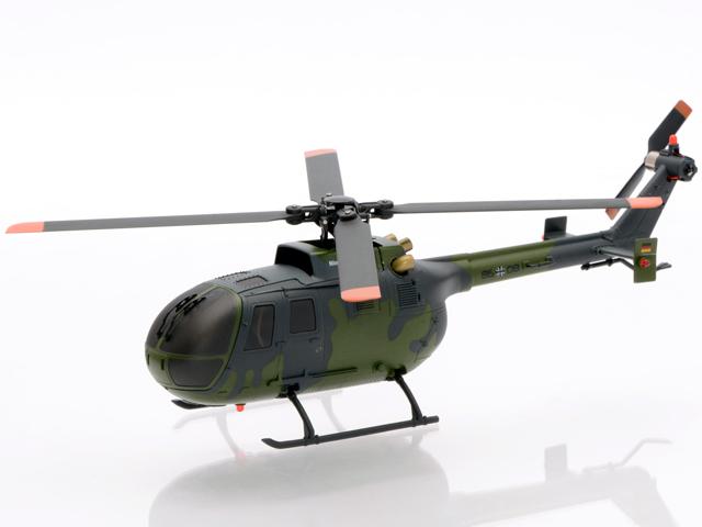 Nine Eagles ソロ・プロ135 BO-105 ドイツ連邦軍仕様 (2.4GHz 6ch 小型電動ヘリコプター) (NE201840) |  SOLO PRO 135