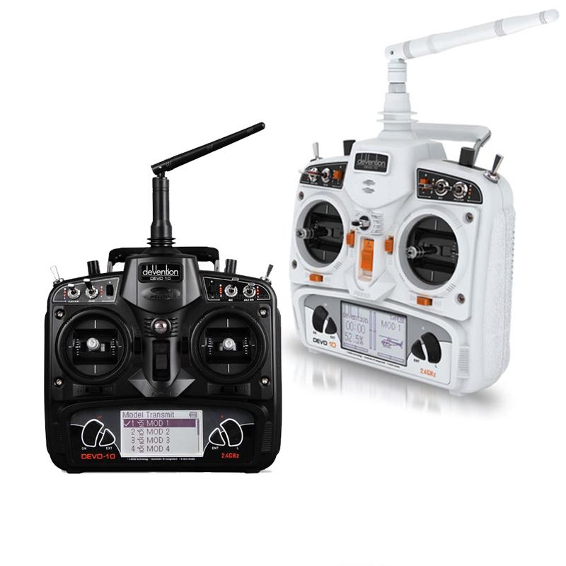 ワルケラ 2.4Ghz 10チャンネル高性能プロポ  DEVO10 技適・電波法認証済 日本語マニュアル付 飛行機 ヘリ ドローン対応 WALKERA デボ10 (walkera-devo10)