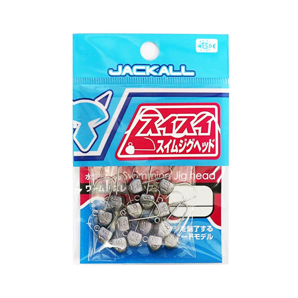 【Cpost】ジャッカル スイスイ スイム ジグヘッド 15個(jackall-sisi-s-15)