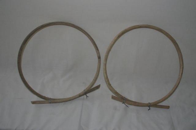 天然藤枠2個 (30019-2)