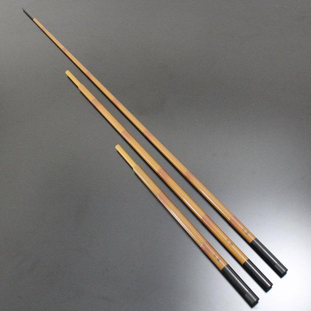 強靭なカーボンを採用し、管理池から野釣り場まで対応できる!ダイシン へらぶな 千尋・N 竿掛け 2本物 口巻き (40089)