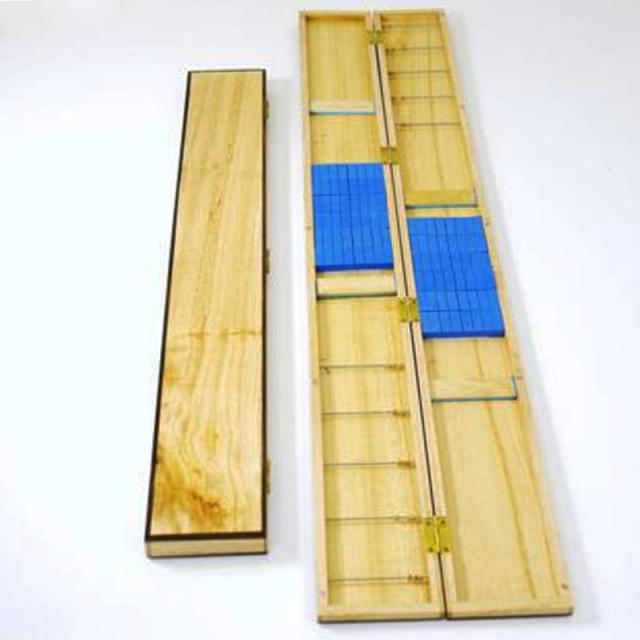 ダイシン高級桐製薄型 (黒檀入り)ハリス箱80cmワイド (50277)