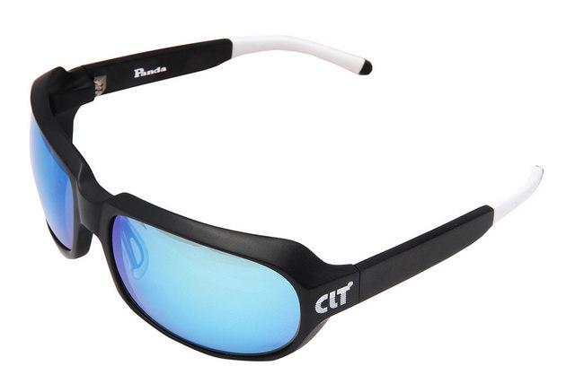 CLT Panda(パンダ)マットブラックXグリーンスモーク/ブルーミラー(clt-150683)60サイズ