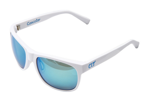 CLT Concolor(コンコロール) ホワイトXグリーンスモーク/ブルーミラー(clt-151123)