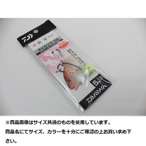 【Cpost】ダイワ 紅牙タイカブラ SS 5号 チャート夜光/ゴールドラメ (da-970754)