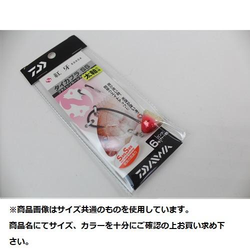 【Cpost】ダイワ 紅牙タイカブラ SS 太軸 6号 ピンク/チャート夜光(da-970884)
