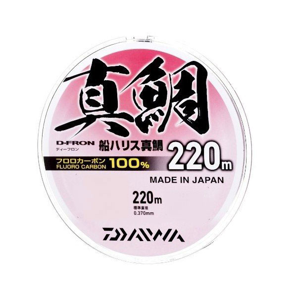 【Cpost】ダイワ Dフロン船ハリス真鯛 4号 220m(da-987301)