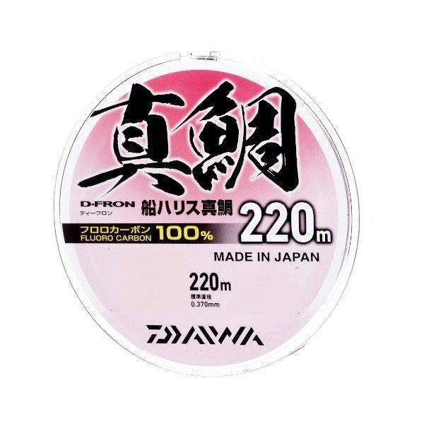 【Cpost】ダイワ Dフロン船ハリス真鯛 8号 220m(da-987349)