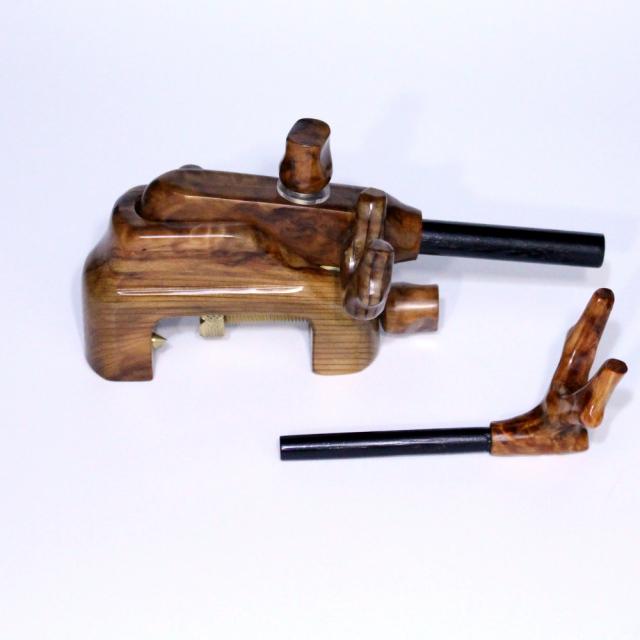 岐山 杉コブ天然大砲万力 (dais-2)