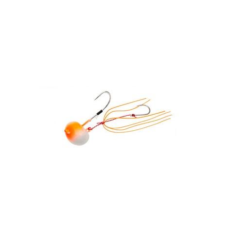 【お取り寄せ品】(Cpost)エコギア TGオーバルテンヤ 10号 TG01オレンジグロウ(eco-124441)