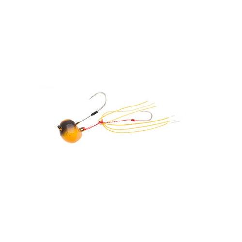 【お取り寄せ品】(Cpost)エコギア TGオーバルテンヤ 10号 TG11リアルホヤオレンジ(eco-124533)