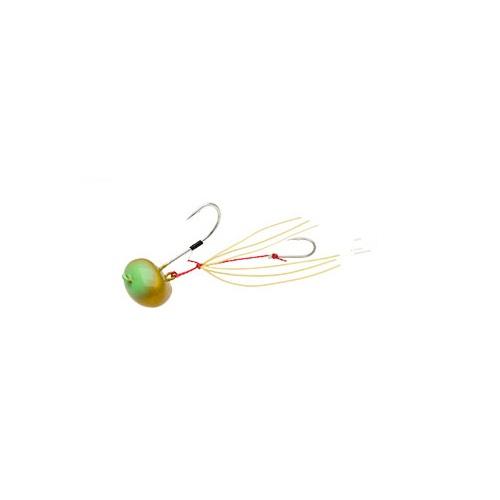 【お取り寄せ品】(Cpost)エコギア TGオーバルテンヤ 10号 TG12ゴールドグリーングロウ(eco-124540)