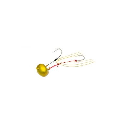 【お取り寄せ品】(Cpost)エコギア TGオーバルテンヤ 15号 TG03ゴールドメタル(eco-124700)
