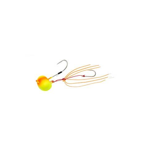 【お取り寄せ品】(Cpost)エコギア TGオーバルテンヤ 15号 TG10オレンジマット(eco-124762)