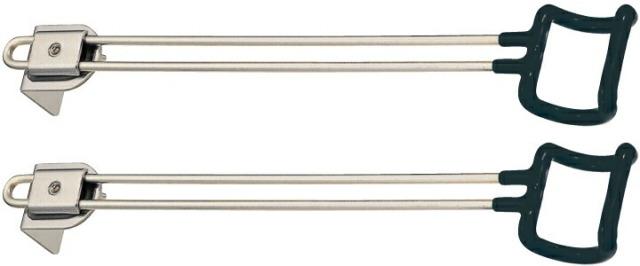 ヘラブナ台オプションパーツ ダイワ GINKAKU サイドハンガー(L)2本セット G-006 (ginkaku-036375)