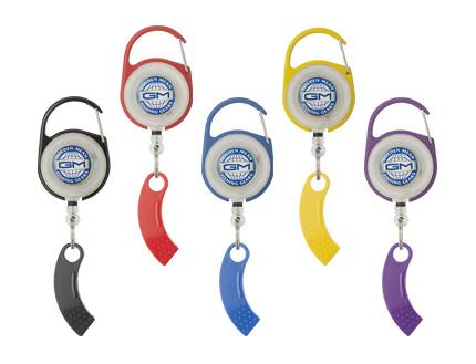 【Cpost】GM ピンオンリール+ラインカッター付 レッド (gm-013050)