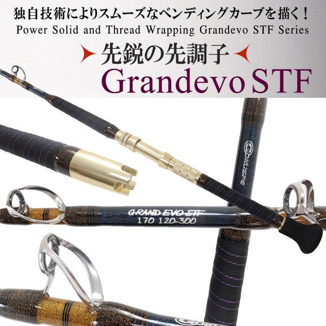 ☆ポイント5倍☆17年 総糸巻スタンディングロッド GRAND EVO STF170(120~300号)(goku-950097)