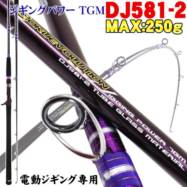 電動ジギング専用竿 Gokuevolution  Jigging Power TGM  DJ581-2 200サイズ(goku-950462)